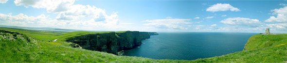 Golf Ireland - The Cliffs of Moher - County Clare
